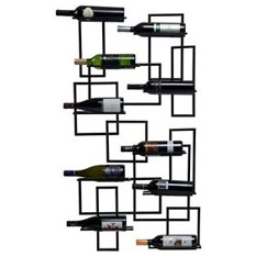 Oenophilia Designer Wall Mount Wine Racks