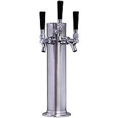 Kegco Three Faucet Draft BeerTower