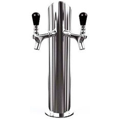 UBC Standard Two Faucet Draft Beer Towers