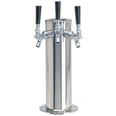 MicroMatic Three Faucet Draft BeerTower
