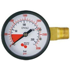 MicroMatic Replacement Keg Beer Regulator Gauges